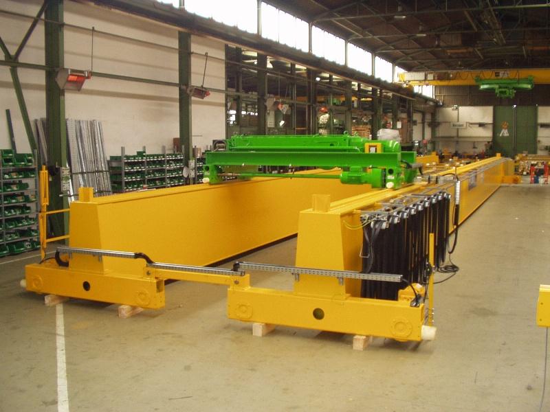 Опорный двухбалочный кран Stahl 30 тонн, исполнение Ех или ВБИ