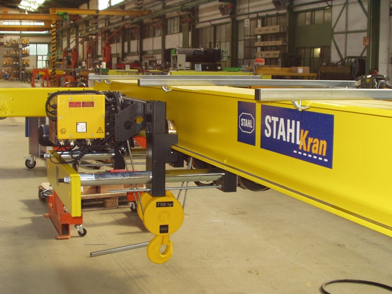 Подвесная таль Stahl 7,5 тонн исполнение ВБИ или Ех